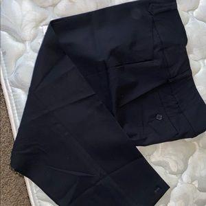 Ladies dark navy blue pants size 14 docket stye